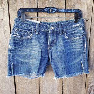 Loomstate Organic Denim Shorts - 28/6